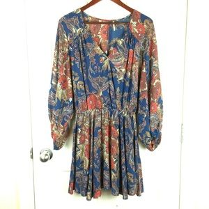 Free people V neck mini dress/tunic top